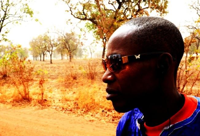 My endirf Hamidou Guino, on the odar nera Ouéllessébougou, Mali.