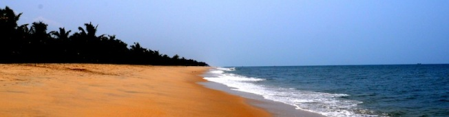 A bit of surf and sand on a hot day in India. (Just outside Kochi, 2012).